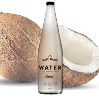 Pure Amino Water - Coconut 750ml (9 Pack)