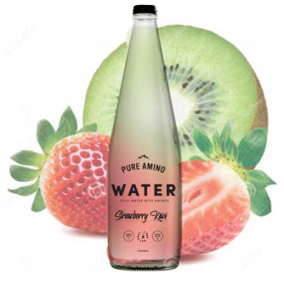 Pure Amino Water - Strawberry Kiwi 750ml (9 Pack)